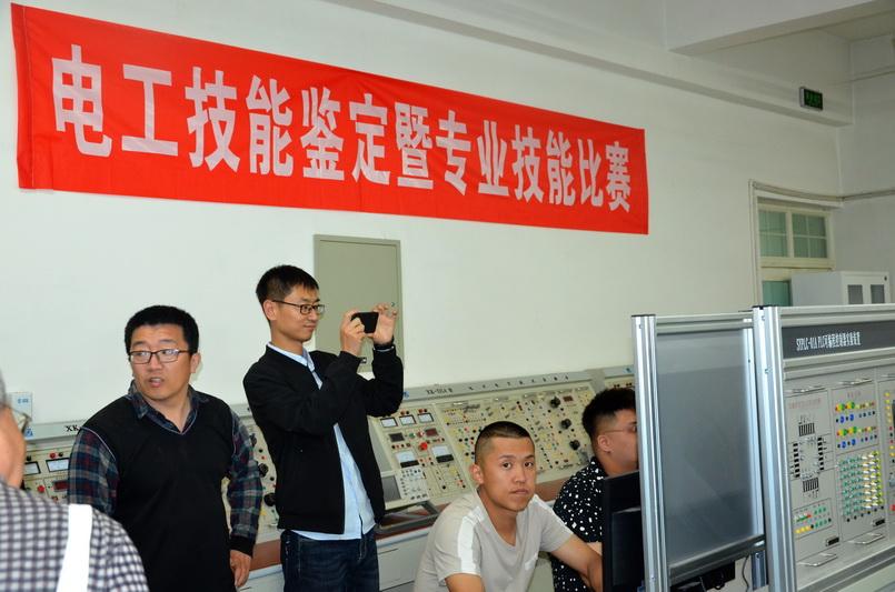 河北省人社厅领导莅临我院验收评估河北省高技能人才培训基地项目建设